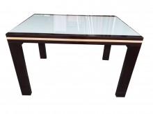 胡桃色拉和餐桌* 二手中古 餐桌餐桌無破損有使用痕跡