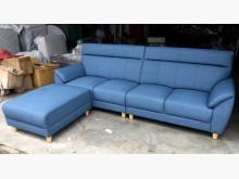 [全新] 藍寶堅尼貓抓皮L型沙發 桃區免運L型沙發全新