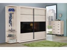 [全新] 曼特寧8.5尺推門衣櫃衣櫃/衣櫥全新