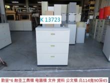 [8成新] K13723 工具櫃 資料櫃辦公櫥櫃有輕微破損