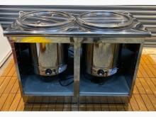 [8成新] 雙槽電熱加溫台其它廚房家電有輕微破損