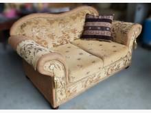 [8成新] 歐式沙發雙人沙發有輕微破損