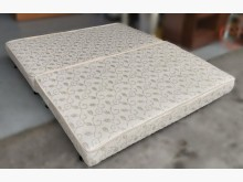 [8成新] 日式床墊雙人床墊有輕微破損