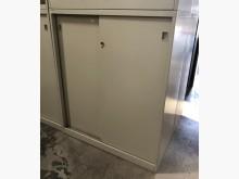 [8成新] (二手)三尺拉門鐵櫃辦公櫥櫃有輕微破損