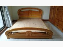 [9成新] 松木雙人床架雙人床架無破損有使用痕跡