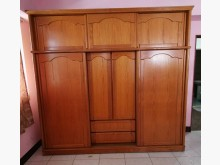 [9成新] 三合二手物流(橡木8尺衣櫃)衣櫃/衣櫥無破損有使用痕跡