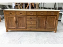 [全新] 全新六尺大理石櫥櫃/抽屜餐櫃碗盤櫥櫃全新