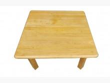 [9成新] 木頭四方桌*中古 洽談桌 邊桌電腦桌/椅無破損有使用痕跡