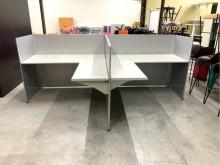 [95成新] 140cm屏風辦公桌/OA桌隔間屏風近乎全新