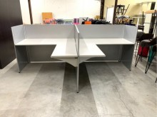 140cm屏風辦公桌/OA桌隔間屏風近乎全新