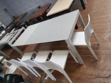 九成新時尚多功能六尺延伸會議桌會議桌無破損有使用痕跡