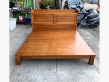 [全新] 全新實木床組/五尺床架/實木床架雙人床架全新