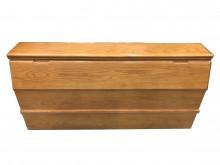木色5尺床頭櫃 *二手中古 床頭床頭櫃無破損有使用痕跡