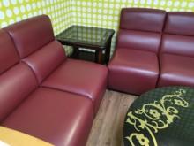 [95成新] 九成九新多重組合式合成皮沙發多件沙發組近乎全新
