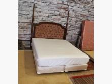 絕對超值美式五星饗宴雙人床組雙人床架無破損有使用痕跡