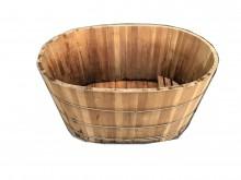 泡澡桶*中古實木泡茶桌會議桌浴缸/木桶無破損有使用痕跡