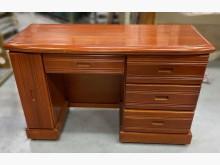 [8成新] E031706*半實木5抽書桌*書桌/椅有輕微破損