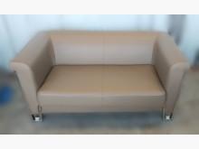 [9成新] A3072**可可色雙人皮沙發雙人沙發無破損有使用痕跡