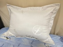 抗電磁波白色枕頭套 可阻隔電磁波枕頭全新