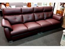 [全新] 108型仿牛皮四人沙發 桃區免運多件沙發組全新