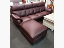 [全新] 108型仿牛皮L型沙發 桃區免運L型沙發全新