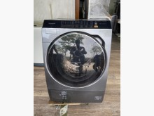 吉田二手傢俱❤國際牌13洗脫烘洗衣機無破損有使用痕跡