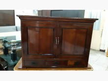 [9成新] 早期老件檜木實木置物收納櫃收納櫃無破損有使用痕跡