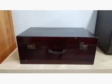 [9成新] 早期老件檜木實木置物箱收納櫃無破損有使用痕跡