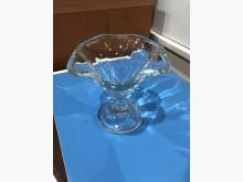 鑫勝2手貨-花形冰淇淋高腳杯杯子無破損有使用痕跡