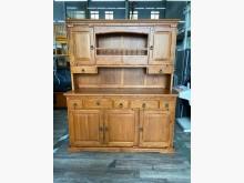 吉田二手傢俱❤實木櫥櫃餐櫥櫃其它櫥櫃近乎全新