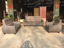 [全新] 新品凱特灰色貓抓皮3+2+1沙發多件沙發組全新