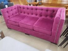 [全新] 毅昌二手家具~外銷時尚三人布沙發雙人沙發全新