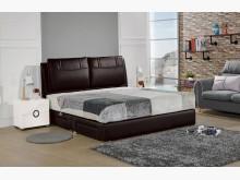 [全新] 傑倫黑色6尺抽屜床組雙人床架全新