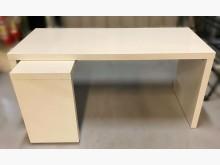 [7成新及以下] E32619*白色L型電腦桌*電腦桌/椅有明顯破損