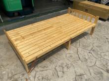 吉田二手傢俱❤松木單人床架單人床架無破損有使用痕跡