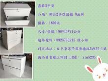 [95成新] 鑫勝2手貨-辦公2抽鋼製理想櫃辦公櫥櫃近乎全新