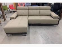 [95成新] 牛皮沙發/L沙發/置物沙發L型沙發近乎全新
