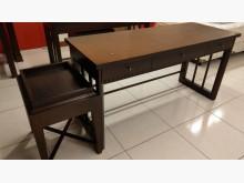 [8成新] 二手書桌+邊桌書桌/椅有輕微破損