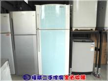 [9成新] 權威二手傢俱/大同雙門冰箱冰箱無破損有使用痕跡
