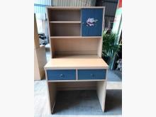 [9成新] 大慶二手家具 白橡色兩抽拉門書桌書桌/椅無破損有使用痕跡