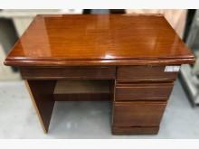 [7成新及以下] E32002*半實木4抽書桌*書桌/椅有明顯破損