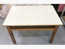 [7成新及以下] E32008*白色書桌*書桌/椅有明顯破損