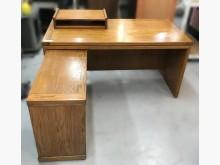 [7成新及以下] E32010*實木L型書桌*書桌/椅有明顯破損