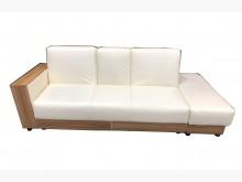 [9成新] 白色沙發床 * 二手客廳桌椅沙發床無破損有使用痕跡