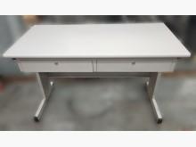 [8成新] C40910*白面辦公桌辦公桌有輕微破損