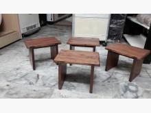 [全新] 松木~矮凳一張其它桌椅全新