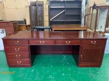 [9成新] 二手/中 花梨木色主管桌其它古董家具無破損有使用痕跡