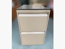 [95成新] C41003*咖啡色二抽鐵櫃*辦公櫥櫃近乎全新