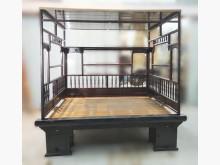 [7成新及以下] 古早味紅眠床架雙人床架有明顯破損