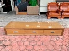 居家橡木紋6.7尺 三屜電視櫃電視櫃無破損有使用痕跡